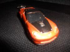 2009 CHEVROLET CORVETTE ZR1 ZR1 DIECAST MODEL CAR KEYCHAIN KEYRING RED / BRONZE