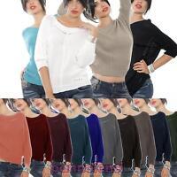 Maglioncino maglione maglia pullover donna maniche pipistrello AS-0309