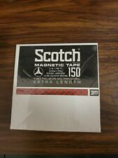 """Scotch Magnetic Tape Reel to Reel - 7"""" 150 Extra Length - New Sealed"""