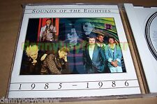 Sounds of the Eighties 80s 1985-1986 NM CD Time Life