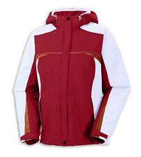 Womens Sz L COLUMBIA Westlake Ridge II Winter Ski Jacket Parka Red White Orange