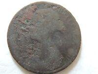1862 Britain Half (1/2) Penny Coin