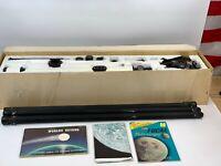 Vintage Tasco Astronomical Telescope Coated Lenses 50mm Model 66TE