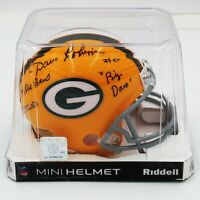 Dave Robinson Signed Green Bay Packers Mini Helmet w/ 3 Inscriptions (PSA/DNA)