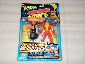 X-MEN MOC Sealed COLOSSUS Figure Secret Weapon Force Toy Biz 1997 Marvel SUPER