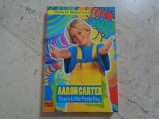 AARON CARTER oop exclusiv RARE 1998 original import bio photo book #2
