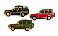 AUTO PIN / spille - LAND ROVER DISCOVERY Verde/Rosso / NERO 3 spille [1181]