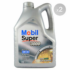 Mobil Super 3000 X1 FE 5w-30 Fully Synthetic Engine Oil - 2 x 5 Litres 10L