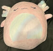 """Squishmallows Cressida the Axolotl Glow in the Dark 14"""" Target Exclusive  - NEW"""