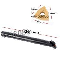 S20R-MWLNL08 20*200mm Left hand lathe boring bar +10pc WNMG080408 carbide insert