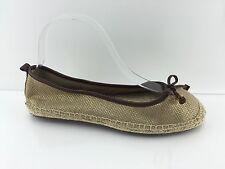 Michel Kors Women's Women's Metallic Gold Flats 7.5 M