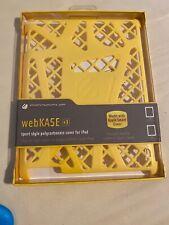 Scosche webKASE IPD2HFY for iPad 2/3/4 -Yellow