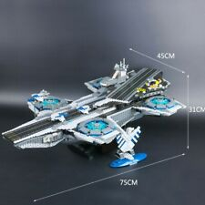 The SHIELD Helicarrier -3057 pieces- New & Sealed-Set 76042 -Aftermarket Brand