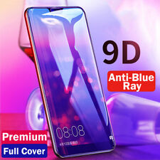 For iPhone XS XR 7 8 Plus Anti Blue Ray Tempered Glass Film 9D Full Cover Screen