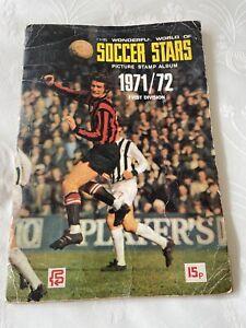 FKS Wonderful World Of Soccer Stars Album 1971-2 'COMPLETE'