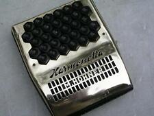 schöne gebrauchte Mundharmonika Hohner Harmonetta mit Tasten