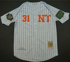Rare Vintage HEADGEAR New York Lincoln Giants Negro Leagues Baseball Jersey M