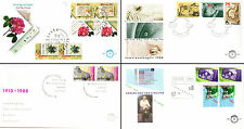 Netherlands Stamps - 3 First Day Covers from 1980s -  Filacept 88 Flowers 15