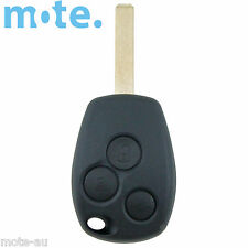 Renault Car Key/Remote Blank 3 Button Replacement Shell/Case/Enclosure