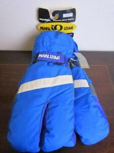 Pearl Izumi IQ Aquanot Lobster Winter Cycling Gloves Blue, Mens Medium