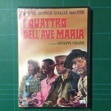 I QUATTRO DELL'AVE MARIA BUD SPENCER TERENCE HILL DVD EDITORIALE SIGILLATO