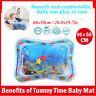 Baby Kid aufblasbare Wasserspielmatte Tummy Time Playmat Activity Pool Kissen
