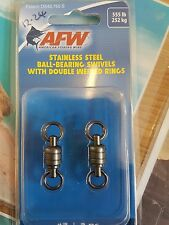 AFW STAINLESS BALL BEARING SWIVEL 555lb / 252kg