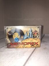 1 x Memorex out of this world 60 Audio Cassette TAPE NEW AND SEALED VERY RARE