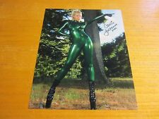 Carrie LaChance Model Autographed Signed 8X10 Photograph Green Latex Outfit
