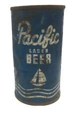 Pacific flat top beer can