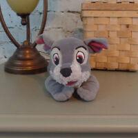 "7"" Tramp Lady and the Tramp Disney Puppy Dog Plush Stuffed Animal"