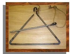 COWBOY DINNER BELL TRIANGLE 20 in. HAND MADE IN IDAHO NEW USA Western