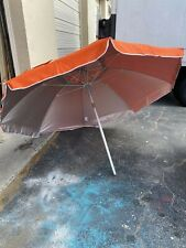cubana 7.5 steel umbrella orange