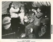 DANNY KAYE LOUIS ARMSTRONG Original Vintage '58 THE FIVE PENNIES Paramount Photo