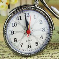 Retro Bicycle Bike Model Alarm Clock Desk Home Bedroom Decoration Clocks