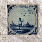 17th Century English Delft Tile Probably Liverpool