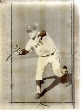 Lot of 2 Original 1967 Press Photos Mike McCormick SF Giants NL Cy Young Winner