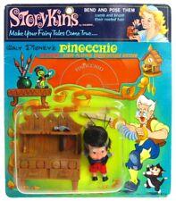 Vintage 1967 Hasbro Storykins Carlo Collodi Disney Pinocchio Mint Sealed  MOC