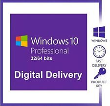 🔥Win 10 Professional 32/64 bit License Key✅🔥FAST DELIVERY