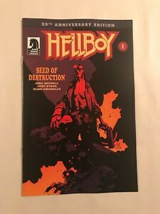 Hellboy Seeds of Destruction #1 25th Anniversary Edition NM+ FREE S/H