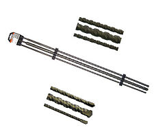 100 cm 3 tlg. SDS plus Betonbohrer Bohrer satz set 1000 mm 1 m ( 12 16 24 mm )