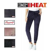 SALE! 32° Degrees Heat Women's Ladies Velour Jogger Pants Lounge VARIETY! J31
