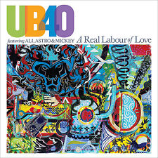 Ub40 FT Ali Astro & Mickey a Real Labour of Love CD 2018