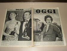 OGGI=1955/15=PIERO GADDA=DINO CAMPANA=CASAPULLA=MARCEL DEAT=CINEMA RIO LIEGE=