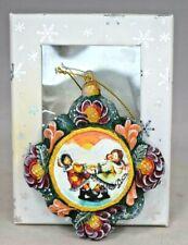 "G DeBrekht Artistic Studios - ""Arctic Children"" #61053 Christmas Ornament (4"")"