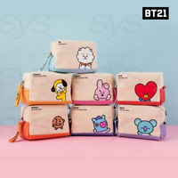 BTS BT21 Official Authentic Goods Canvas Volume Pouch By Kumhong Fancy + Track#
