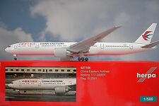 Modellismo Herpa Modellino Aereo China Eastern Airlines Boeing 777-300er