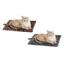 New Purrfect Thermal Self Heating Cat/Dog Pet Bed Brown Leopard Puppies /Kittens