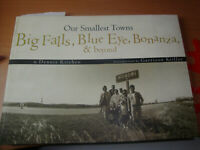 LIBRO: BIG FALLS, BLUE EYE, BONANZA E BEYOND - BY DENNIS KITCHEN -