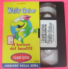 VHS film WALLY GATOR Il terrore dei banditi CORRIERE DELLA SERA (F107) no dvd